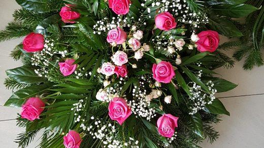 Wiązanki i wieńce z kwiatów żywych